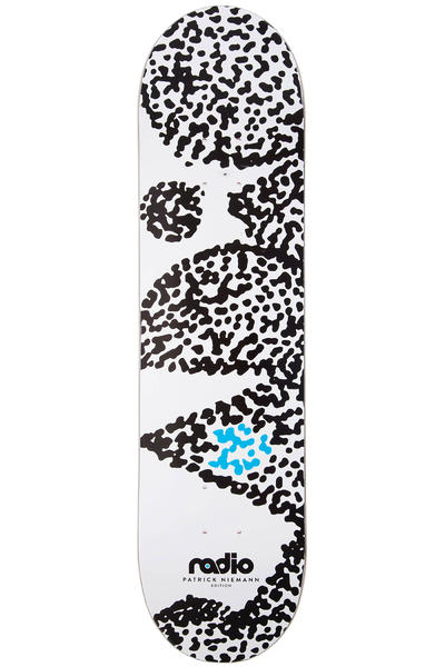 "Radio Dots 8.5"" Deck (white)"