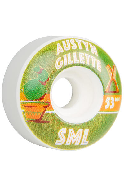 sml. Wheels Gillette Donta Series OG Wide 53mm Rollen 4er Pack