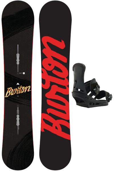 Burton Ripcord 162cm Wide / Infidel L Snowboardset 2016/17