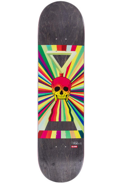 "Globe China Heights 8"" Deck (ancient future skull)"