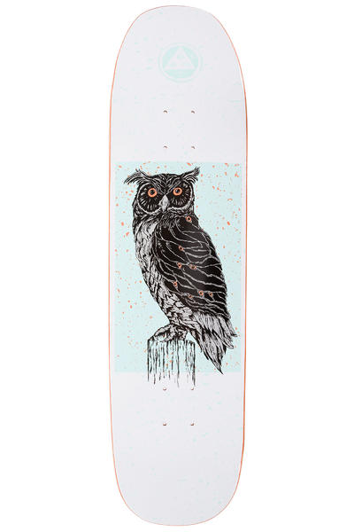 "Welcome Black Beak 8.25"" Tabla (white)"