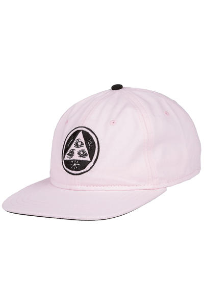 Welcome Talisman Unstructured Strapback Gorra (pink black)