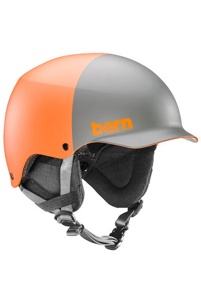 Bern Team Baker Casco de Snow (matte orange two tone)