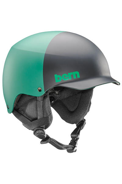 Bern Team Baker Casco de Snow (matte hunter green two tone)