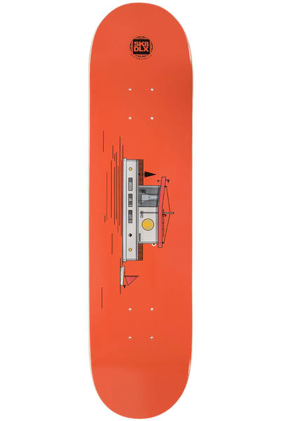 "SK8DLX Sea Series 7.75"" Deck (red)"