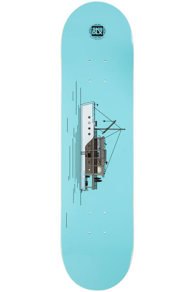 "SK8DLX Sea Series 7.875"" Deck (blue)"