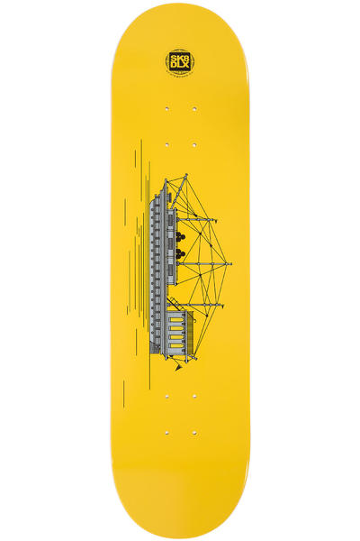 "SK8DLX Sea Series 8.25"" Deck (yellow)"