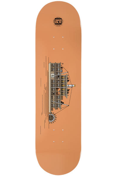 "SK8DLX Sea Series 8.375"" Deck (brown)"