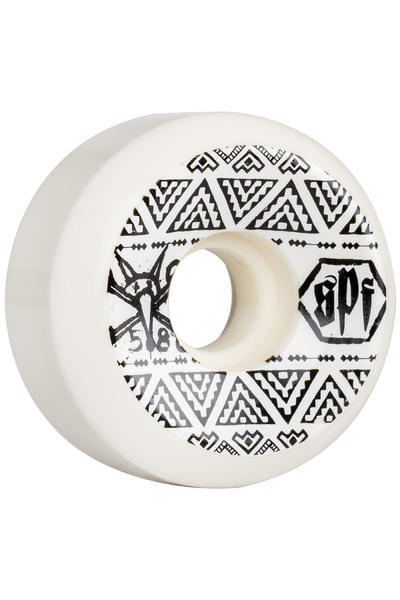 Bones SPF Sidecut 58mm Wheel (white) 4 Pack