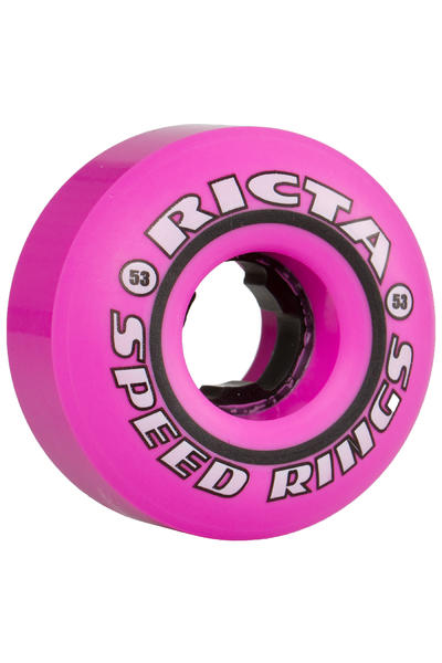 Ricta Speedrings 53mm Rollen (pink black) 4er Pack