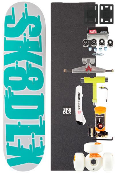 "SK8DLX Swift Series Komplett 7.625"" Skateboard-Bausatz (turquoise)"