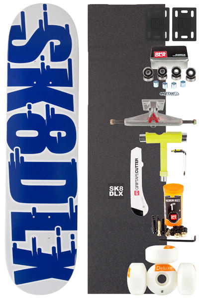 "SK8DLX Swift Series Komplett 7.5"" Skateboard-Bausatz (blue)"