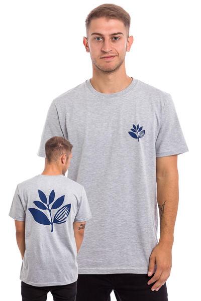 Magenta Plant Camiseta (heather grey blue)