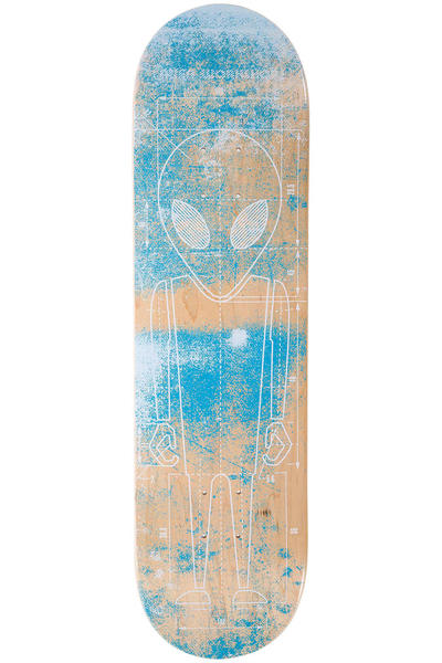 "Alien Workshop Blueprint 8.25"" Tabla (blue)"