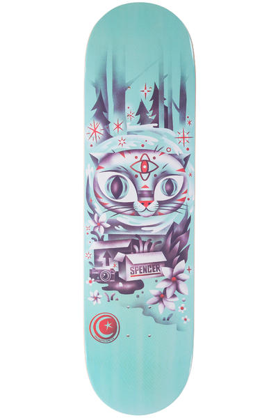 "Foundation Spencer Woodwraith 8.375"" Deck (blue)"