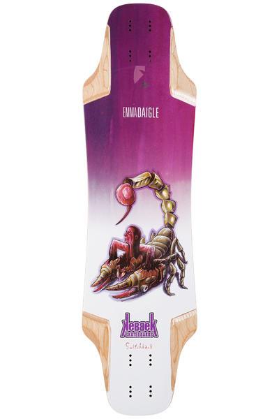 "Kebbek Emma Daigle Switchback 33.5"" (85cm) Planche Longboard Bio-Suit Series"