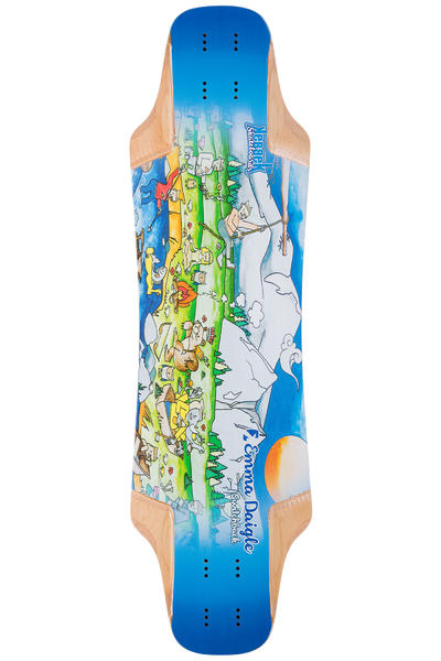 "Kebbek Emma Daigle Switchback 33.5"" (85,1cm) Longboard Deck Outdoor Series"