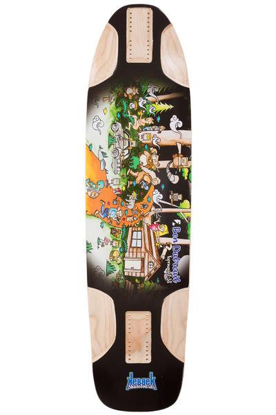 """Kebbek Ben Dubreuil TopMount 38"""" (96,7cm) Planche Longboard Outdoor Series"""