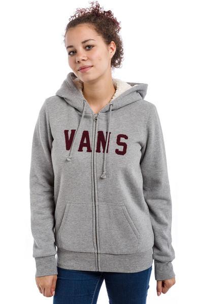 Vans Nori Zip-Hoodie women (grey heather)