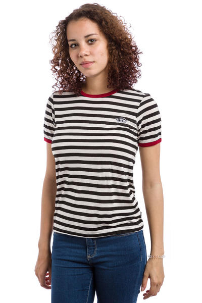 Vans Skate Patch 2 T-Shirt women (black white red)
