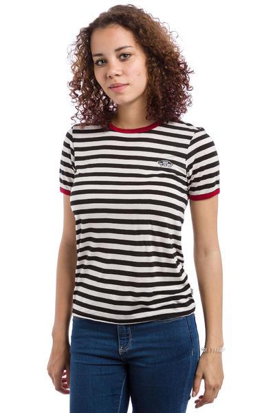 Vans Skate Patch 2 T-Shirt women (black white red)