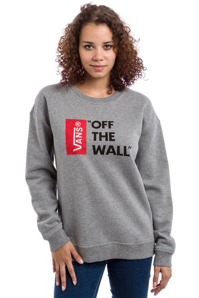 Vans Anthem Sweatshirt women (grey heather)