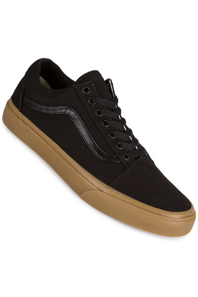 Vans Old Skool Canvas Schuh (black light gum)