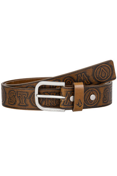 Volcom Draft Belt (dark chocolate)