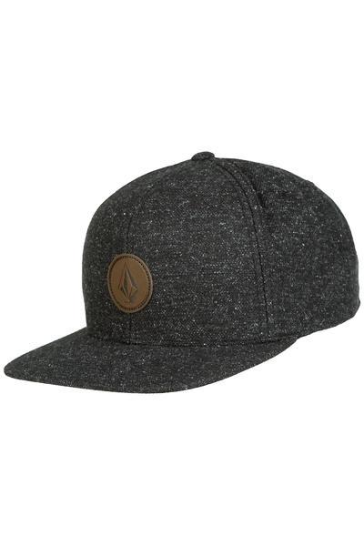 Volcom Quarter Fabric Snapback Gorra (asphalt black)