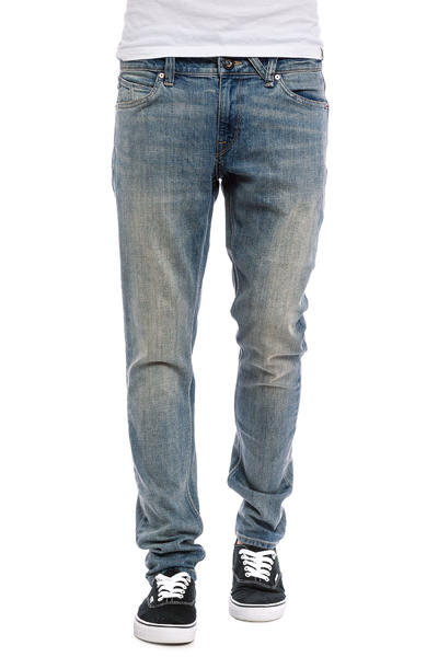 Volcom Vorta Tapered Jeans (heavy worn faded)