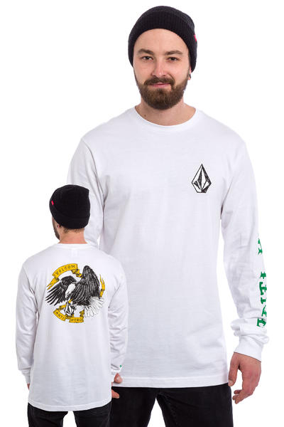 Volcom x Anti Hero Longsleeve (all white)