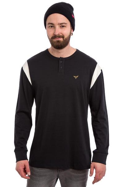 Volcom x Anti Hero Henley Camiseta de manga larga (black)