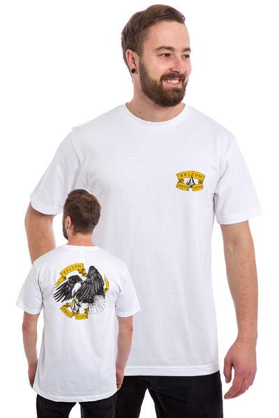 Volcom x Anti Hero Ride Camiseta (all white)