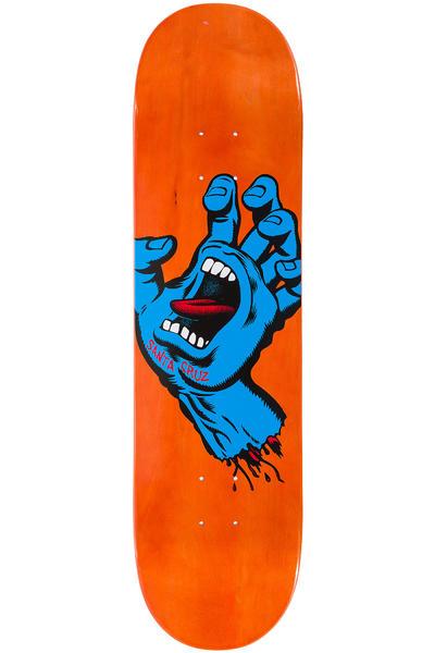 "Santa Cruz Team Screaming Hand Minimal 8"" Deck (orange)"