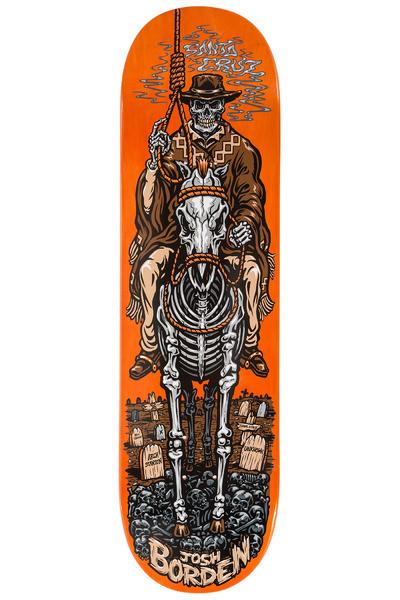 "Santa Cruz Borden Cowboy 8.6"" Deck (orange)"