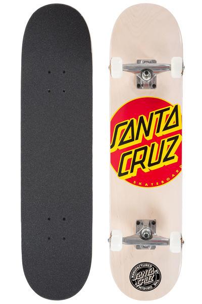 """Santa Cruz Classic Dot 7.75"""" Komplettboard (white)"""
