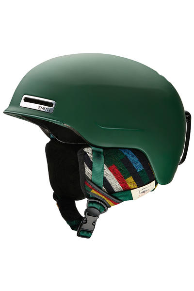 Smith Maze Snow-Helmet (matte forest woolrich)