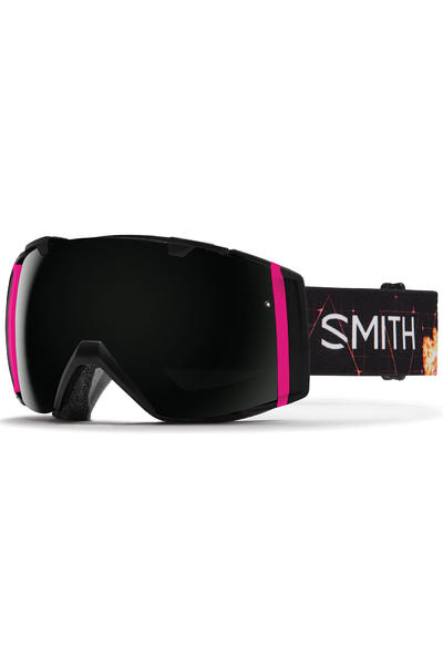 Smith I/O Unicorn Goggles (blackout red sensor) incl. Bonus glass