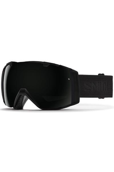 Smith I/O Goggles (blackout red sensor) incl. Bonus glass