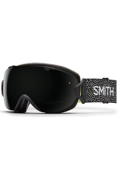 Smith I/OS Gafa de Snow women (blackout red sensor) incl. lente adicional