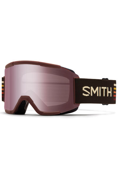 Smith Squad Oxblood Goggles (ignitor yellow) incl. 2ème écran