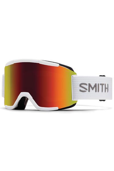 Smith Squad White Goggles (red solex yellow) incl. Bonus glass