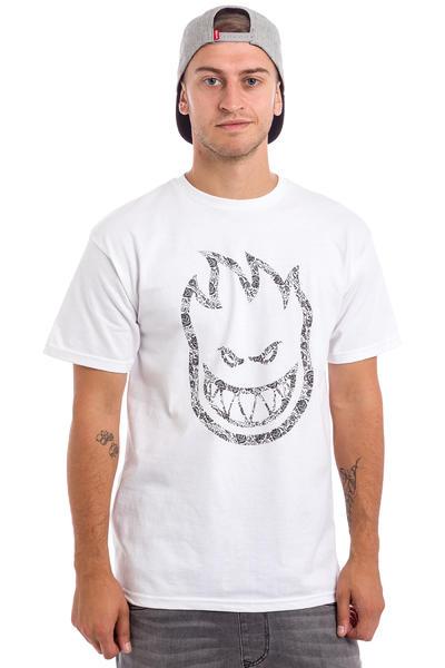 Spitfire Bighead Paisley T-Shirt (white)