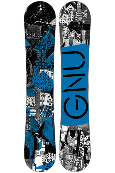 Gnu Carbon Credit 159cm Wide Snowboard 2016/17