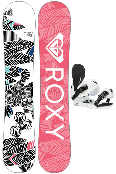 Roxy Wahin 150cm / Binding M/L Snowboardset 2016/17 women