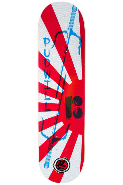 "Plan B Pudwill Warrior P2 8"" Deck (red white)"