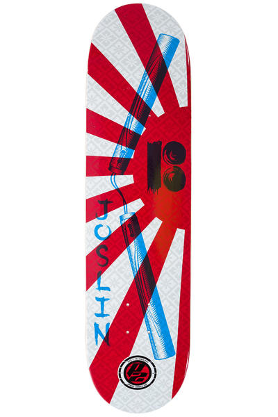 "Plan B Joslin Warrior P2 8.125"" Deck (red white)"