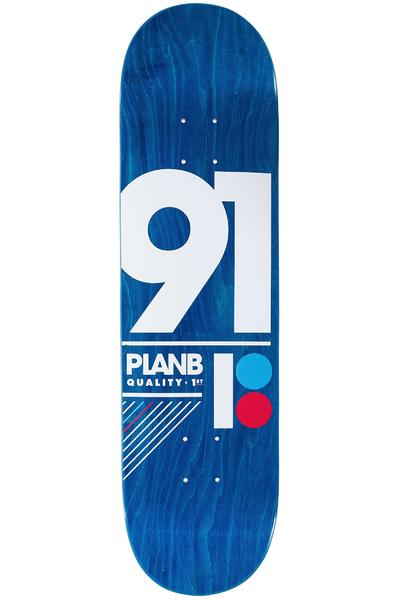 "Plan B Team 91 B 8.25"" Deck (blue)"
