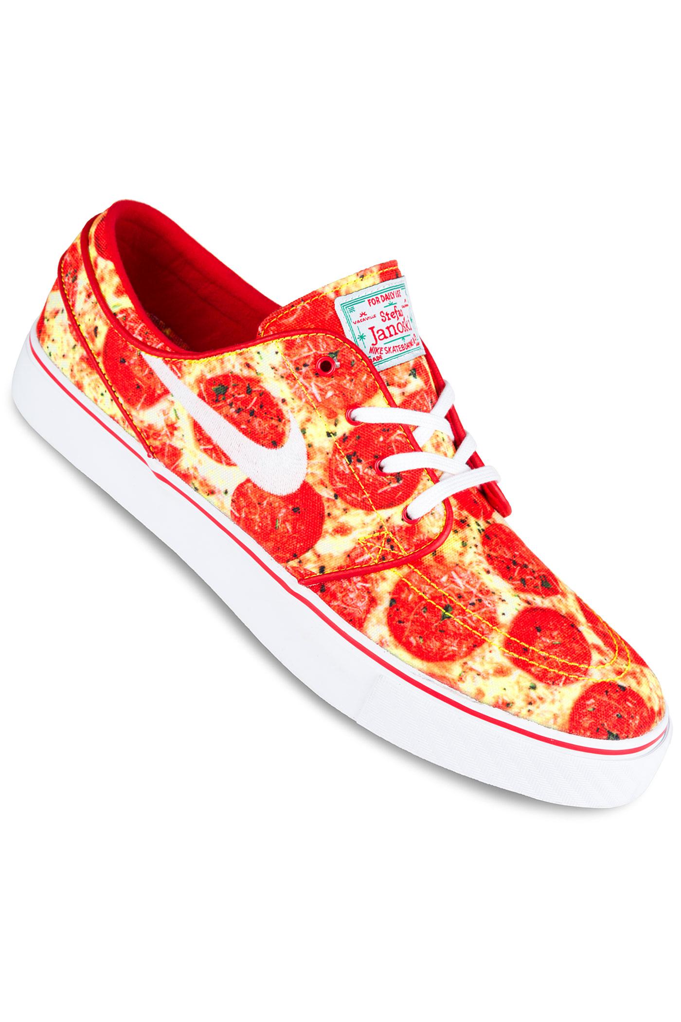 nike sb x skate mental zoom stefan janoski qs chaussure pepperoni pizza achetez sur skatedeluxe. Black Bedroom Furniture Sets. Home Design Ideas