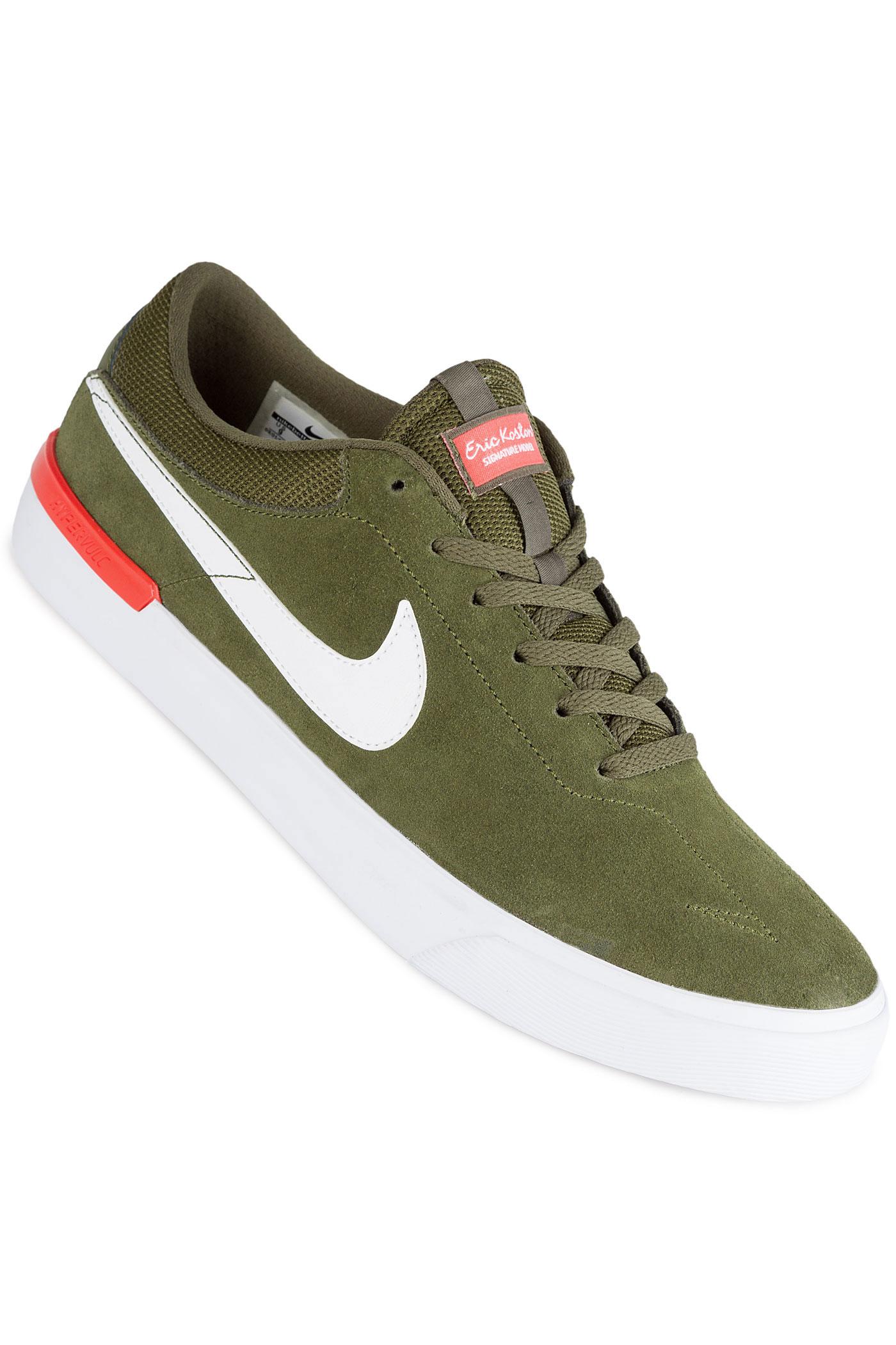 nike sb koston hypervulc chaussure legion green white max orange achetez sur skatedeluxe. Black Bedroom Furniture Sets. Home Design Ideas
